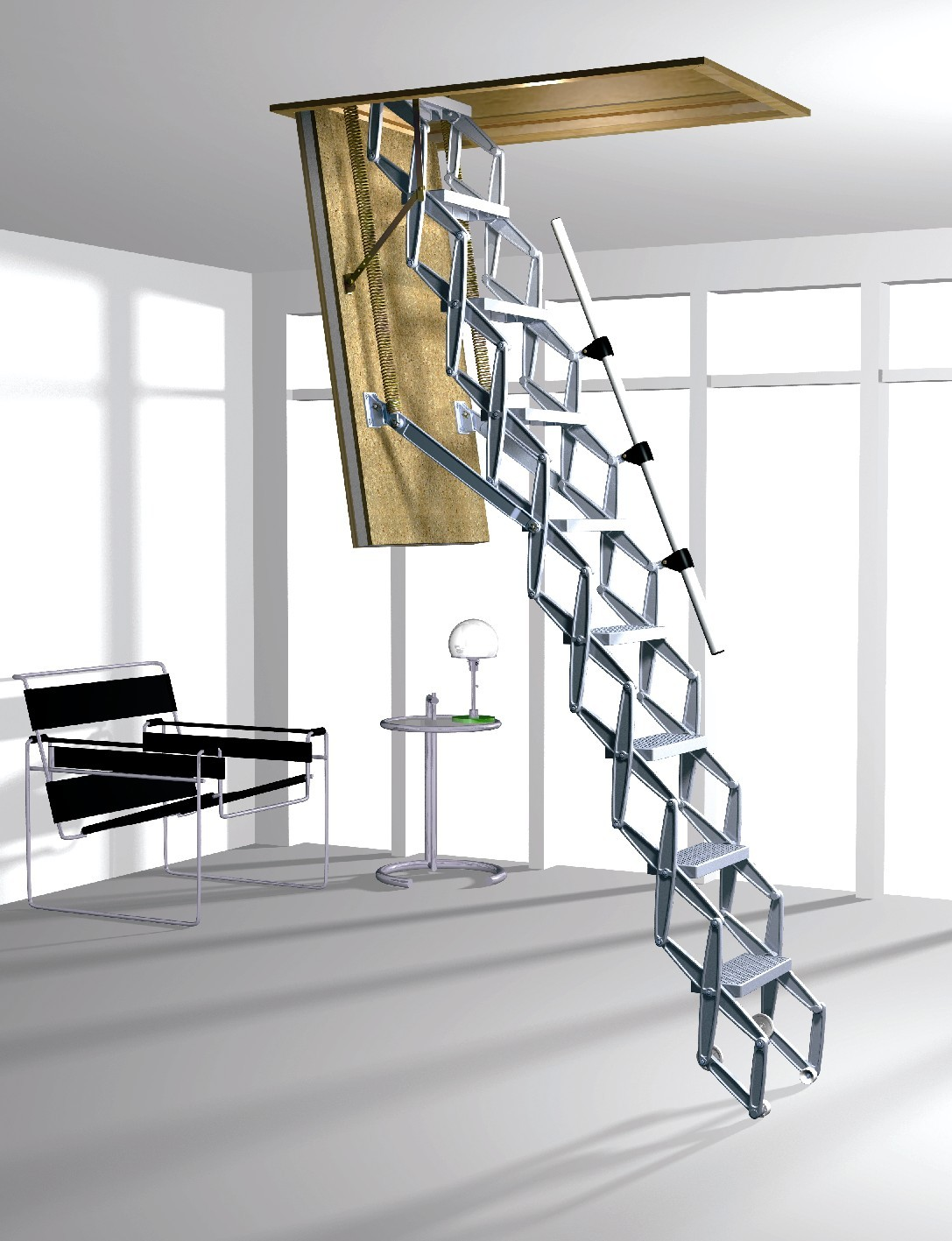 Elektrikli 199 Atı Merdiveni Elektrikli 199 Atı Merdiven
